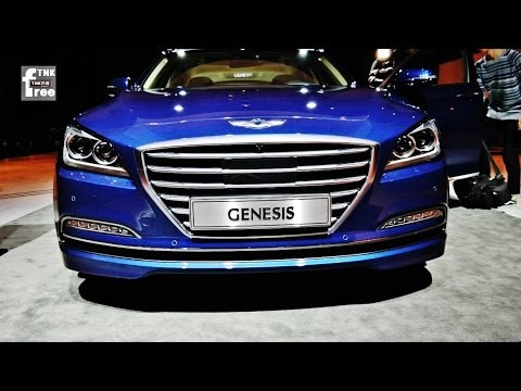 2015 Hyundai Genesis Sedan 2014 Hyundai Genesis look around Interior, exterior