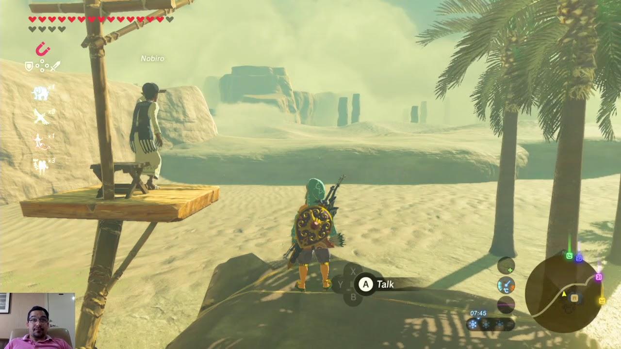 The Eye Of The Sandstorm Shrine Quest Santuario Oculto Zelda