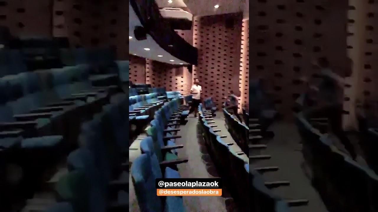 Caída Felipe Colombo en ensayos Desesperados La Obra (Paseo La Plaza)