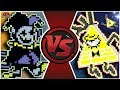 JEVIL vs BILL CIPHER! (Deltarune Animation) | Cartoon Fight Club Episode 291