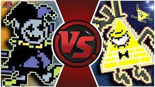 JEVIL vs BILL CIPHER! (Deltarune Animation) | Cartoon Fight Club Episode 291