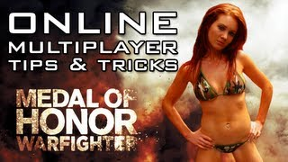 Tips and Tricks for Online Multiplayer FPS Games   How To Play Medal of Honor Warfighter Etc...
