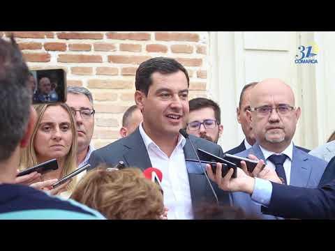Juan Manuel Moreno informa sobre las viviendas irregulares en Andalucía