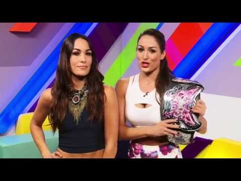 The Bella Twins Takeover MTV News UK