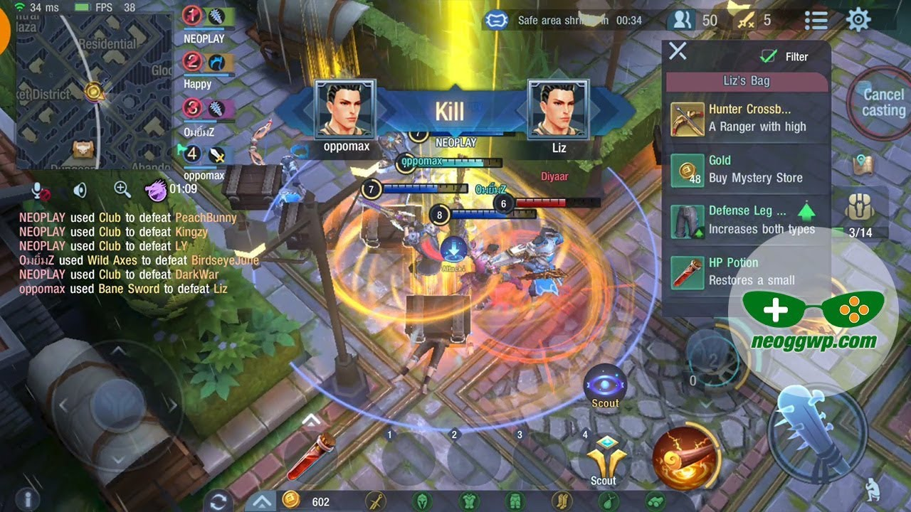 Survival Heroes English Android Ios Apk Battle
