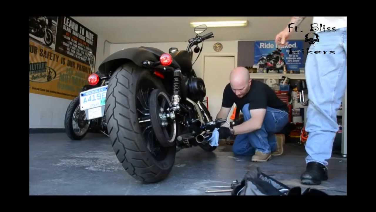 removing baffles from a sportster