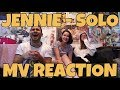 JENNIE - Solo MV Reaction [MEN AIN'T SHIT ANTHEM!]