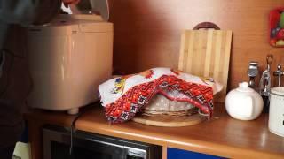Какой получился хлеб в хлебопечке Panasonic