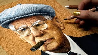 Drawing My Great-Grandfather - Art Rooney Sr.