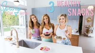 3 Healthy Snacks | What to Eat Pre & Post Workout