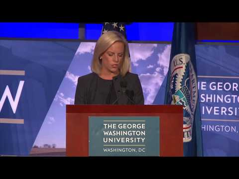 A Discussion with Kirstjen M. Nielsen Secretary of Homeland Security