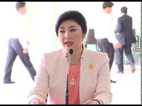 นายกรัฐมนตรี ให้สัมภาษณ์สื่อมวลชนหลังการประชุมคณะรัฐมนตรี ณ โรงเรียนนายร้อยตำรวจสามพราน