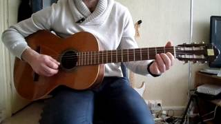 Olivia Ruiz - Mon corps mon amour - comment jouer tuto guitare YouTube En Français