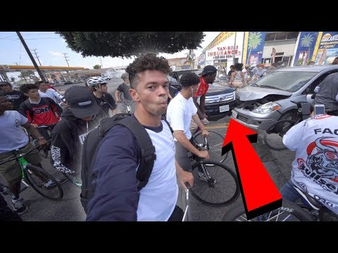 OUR RIDEOUT CAUSED A CAR ACCIDENT.. *INSANE*