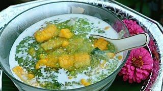 เปียกสาคูข้าวโพดหวานมะพร้าวอ่อนอร่อยหวานมัน ทำง่ายมากSago and Corn Dessert in Coconut Milk repice
