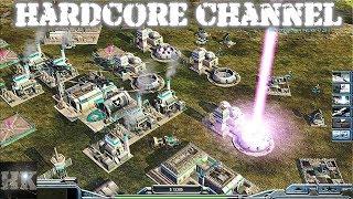 Command & Conquer Generals: Zero Hour - FFA - AI Mod - Внезапная бомбардировка