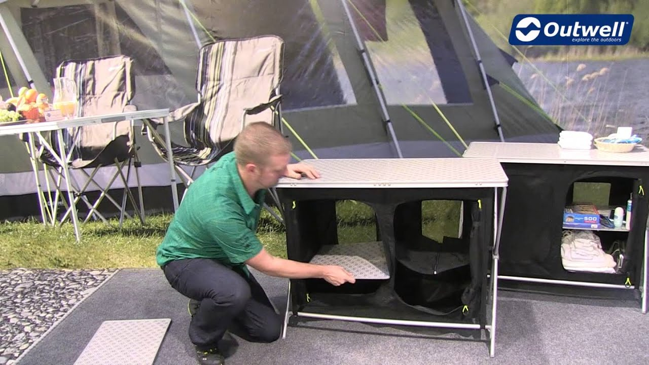 Outwell Wardrobe Aruba | Innovative Family Camping - YouTube