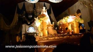Rezado de Santa Catalina de Alejandria, paroquia de Santa Catarina Pinula