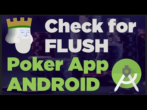 How To Check For Flush And Straights In Poker Android Studio Java Programming