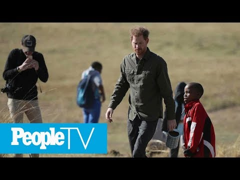 Prince Harry Continues Tour In Botswana While Meghan Markle & Archie Stay In South Africa | PeopleTV