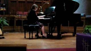 HONOR RECITAL Piano Solo D.SCARLATTI SONATA # 12 IN A Maj, 1ST MVMT