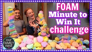 200 PACKETS OF FOAM - MINUTE TO WIN IT CHALLENGE