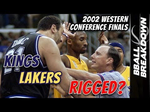 How The Refs Decided Lakers Kings 2002 WCF Game 6