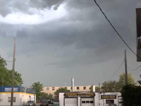 storm rolling threw kitchener ontario aug 2 2015