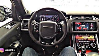 The Range Rover SVR 2019 Interior