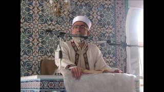 Hasan Basri Balcı Aykent sanayi camii cuma vaazı 26.08.2016