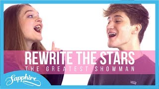 Download Lagu Rewrite The Stars - Zendaya & Zac Efron | Sapphire & Houssein Mp3