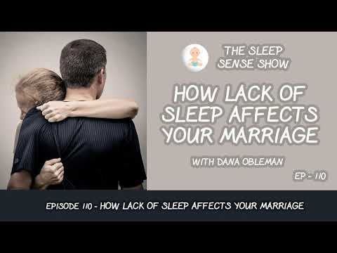 Episode 110 How Lack of Sleep Affects Your Marriage