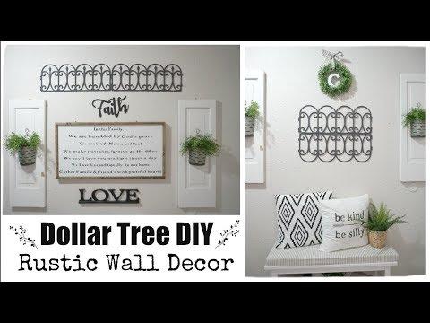 DOLLAR TREE DIY RUSTIC WALL DECOR   Momma from scratch