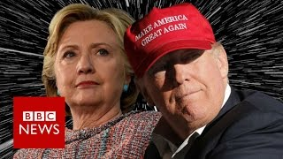 US election: 19 months in 170 seconds - BBC News
