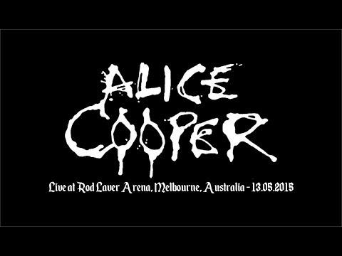 Alice Cooper - Live at Rod Laver Arena, Melbourne 2015