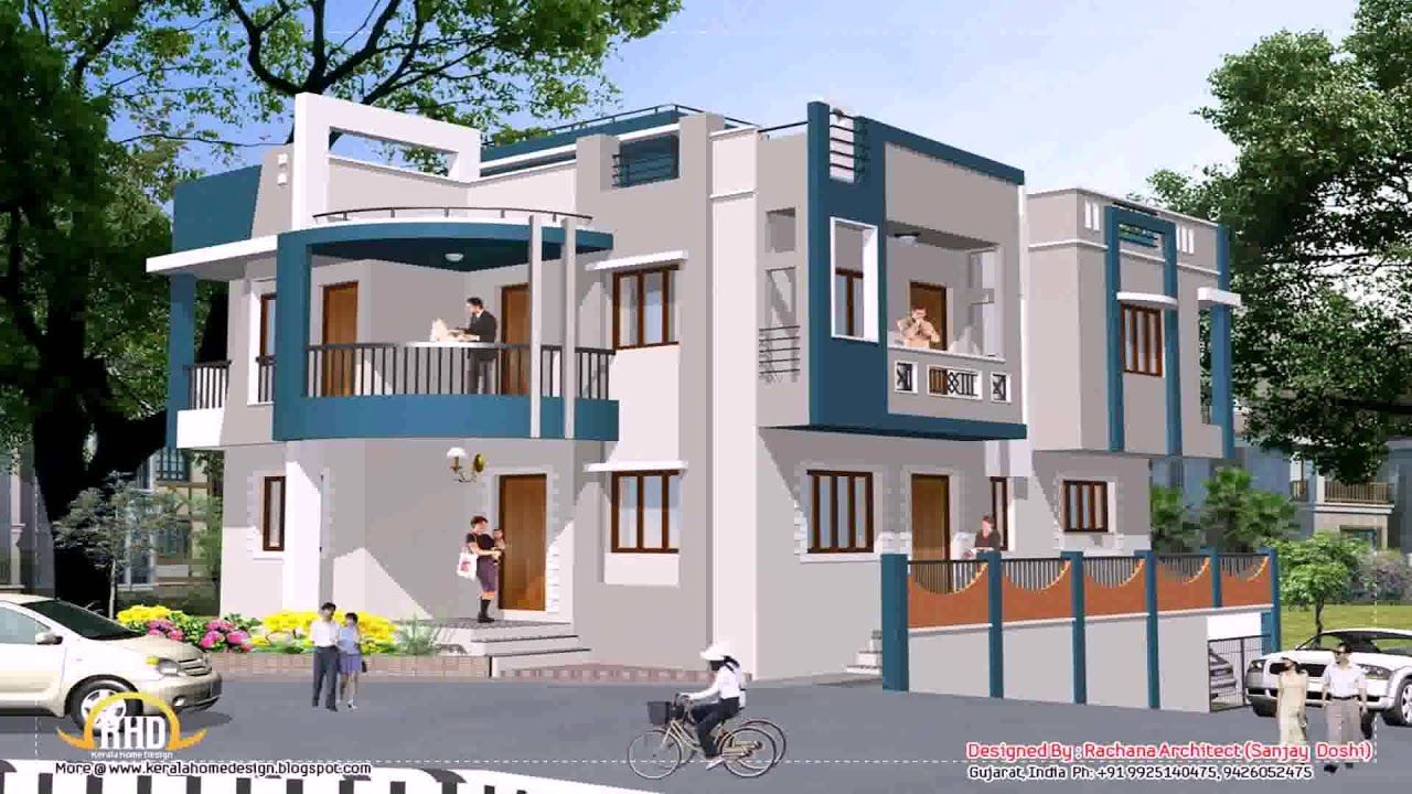 House Design Front View India Awesome Wonderful