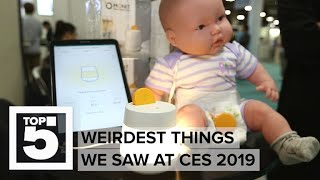 Top 5 weirdest things from CES 2019