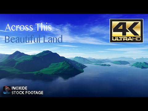 Across This Beautiful Land: - Videohive CGI Motion Graphics
