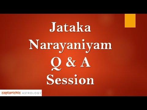 Jataka Narayaniyam Q & A Session