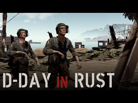 D-DAY IN RUST | War Reporting from the Frontlines (Rust WW2 Event)