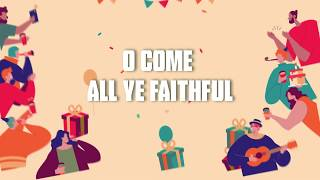 Come All Ye Faithful | Nursery Rhymes | Kids Songs | Kids | Lullaby Rhymes | Lyrical video