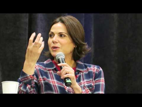 Lana Parrilla Talk Working With Bobby Carlyle