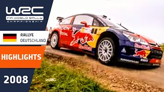 Rallye Deutschland 2008: WRC Highlights / Review / Results