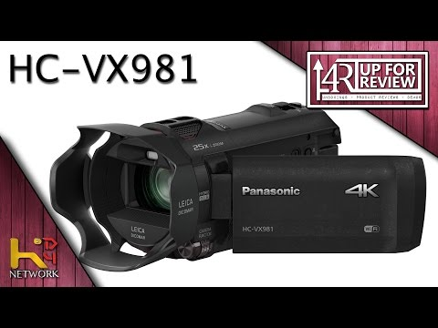 Panasonic HC-VX981 (Unboxing & Demo)