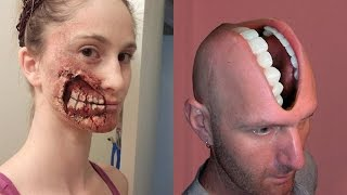 Repeat youtube video 3D Bizarre Tattoos That Will Bend Your Mind