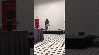National Fine Art Spoken Word- Tatiana Chaparro