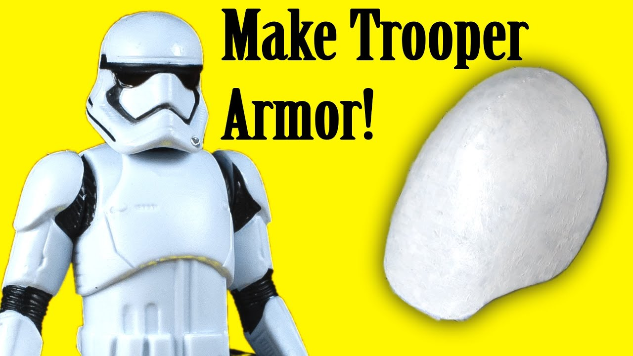 How to Make Stormtrooper Armor - Shoulders (DIY)