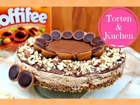 k stliche toffifee torte mit nougat i haselnuss torte i no bake rezept youtube. Black Bedroom Furniture Sets. Home Design Ideas