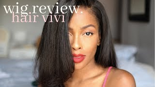 ISSA WIG! Hair Vivi 7 Month Frontal Wig Review - Glueless & minimal styling??