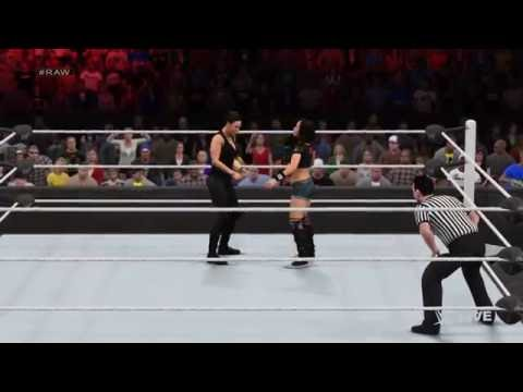 WWE 2K15 Divas Championship Tournament Part 1: AJ Vs Tamina (PS4/Xbox1)